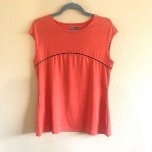 Orange Lija Activewear Top